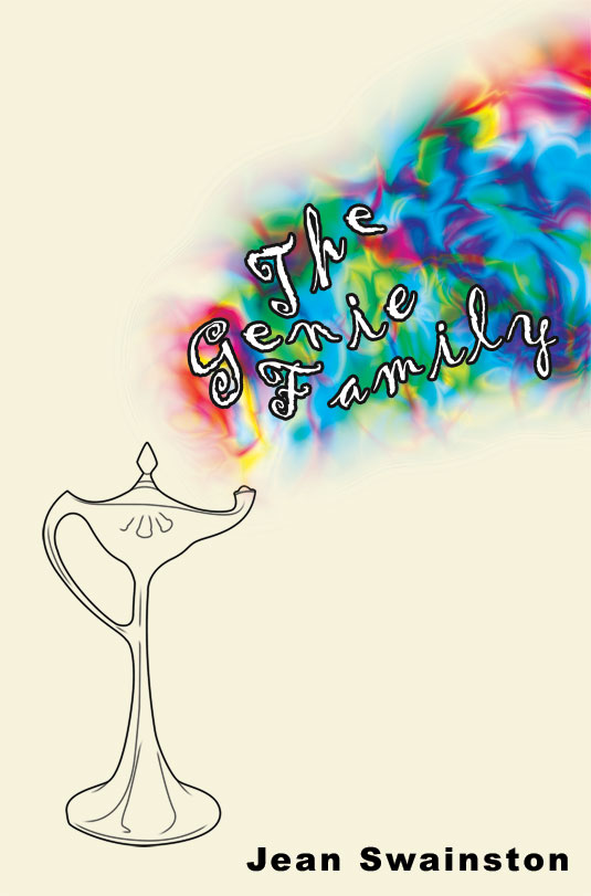 The cover of The Genie Family by Jean Swainston