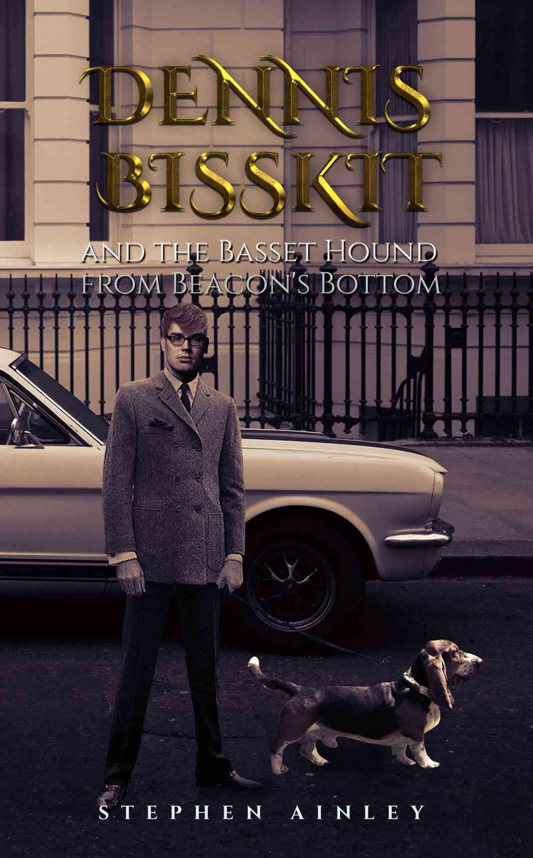 Dennis Bisskit and the Basset Hound from Beacon's Bottom