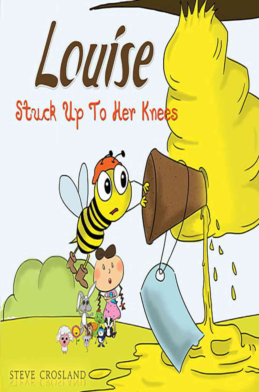 Louise Stuck Up To Her Knees