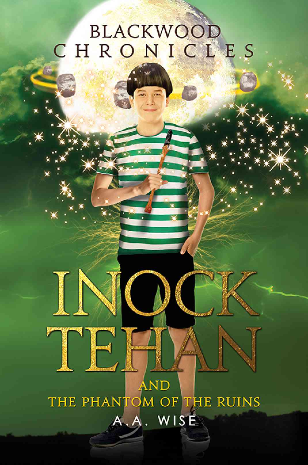Blackwood Chronicles: Inock Tehan and the Phantom of the Ruins