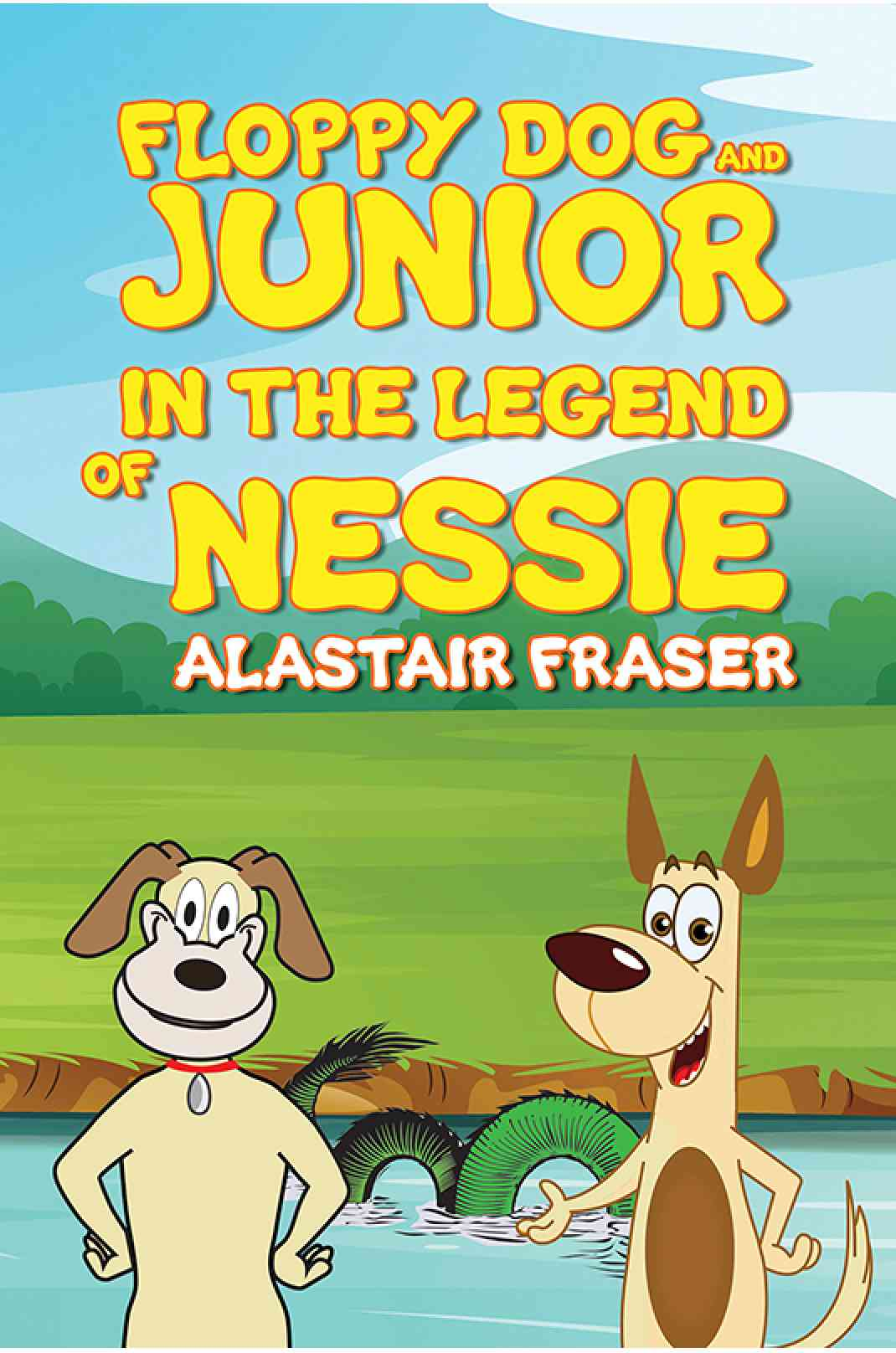 Floppy Dog and Junior in The Legend of Nessie