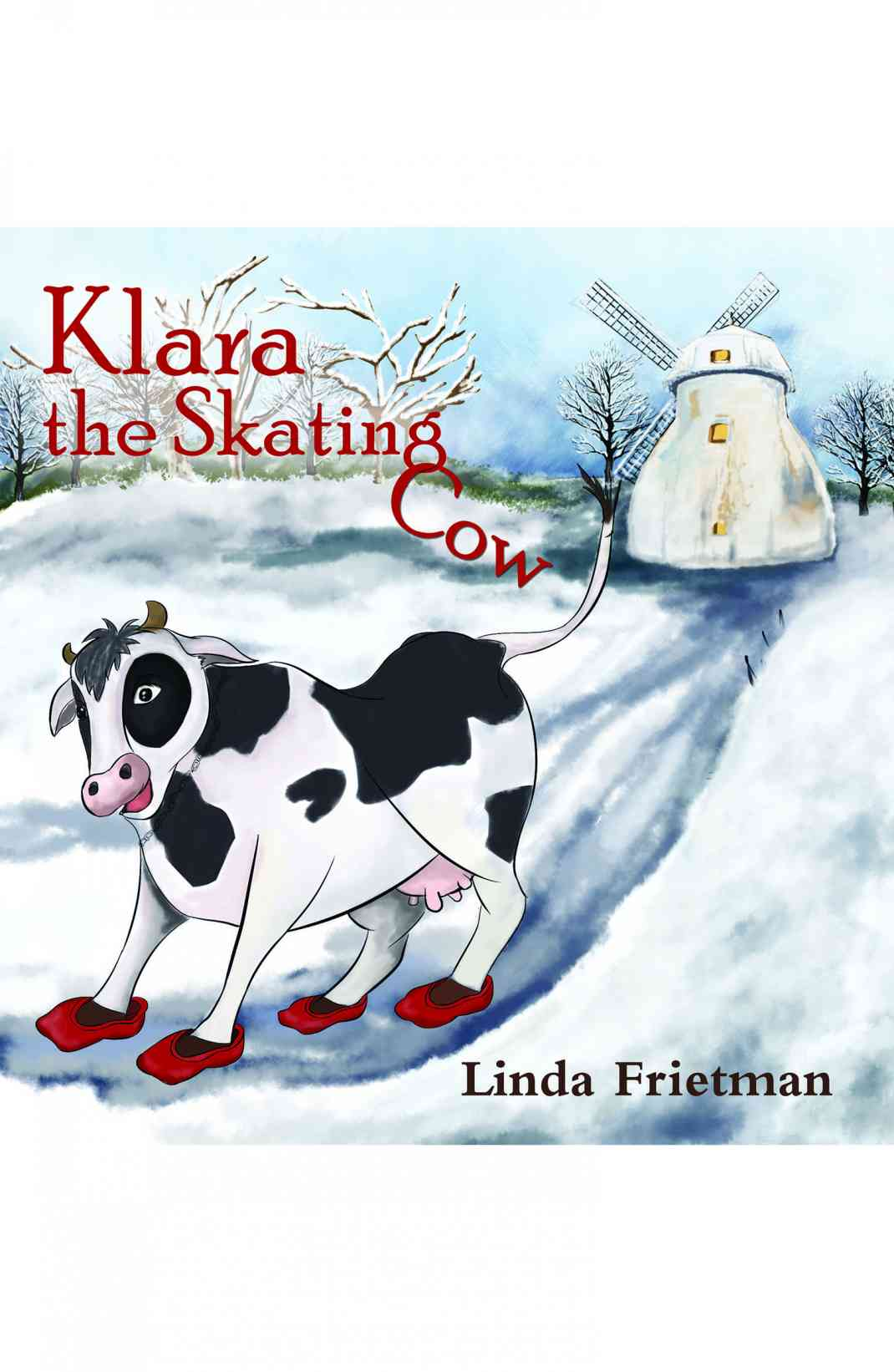 Klara the Skating Cow