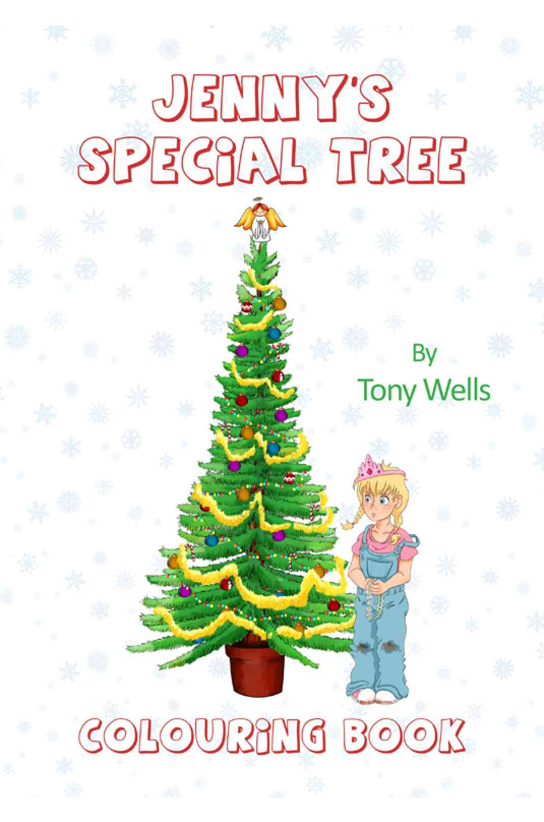 Jenny's Special Tree: Colouring Book