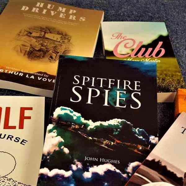 Our titles are featured prizes at the St. Michaels Golf Club event