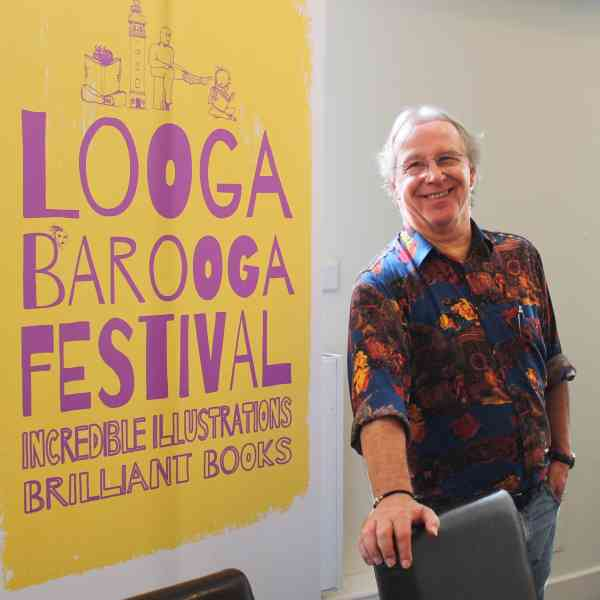 Kevin J Adcock appears at Loogabarooga Book Festival
