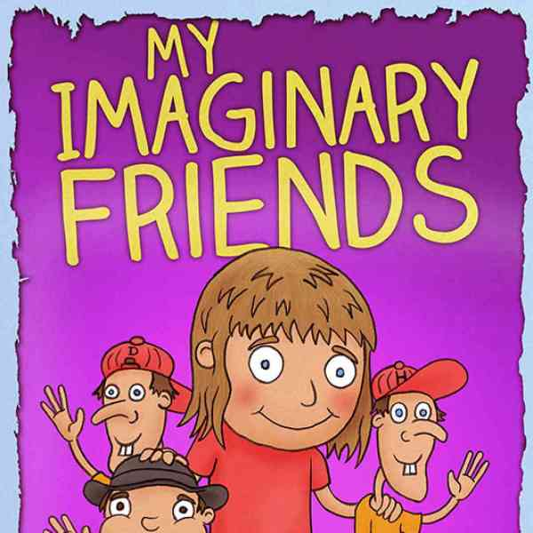 The creative cover of My Imaginary Friends