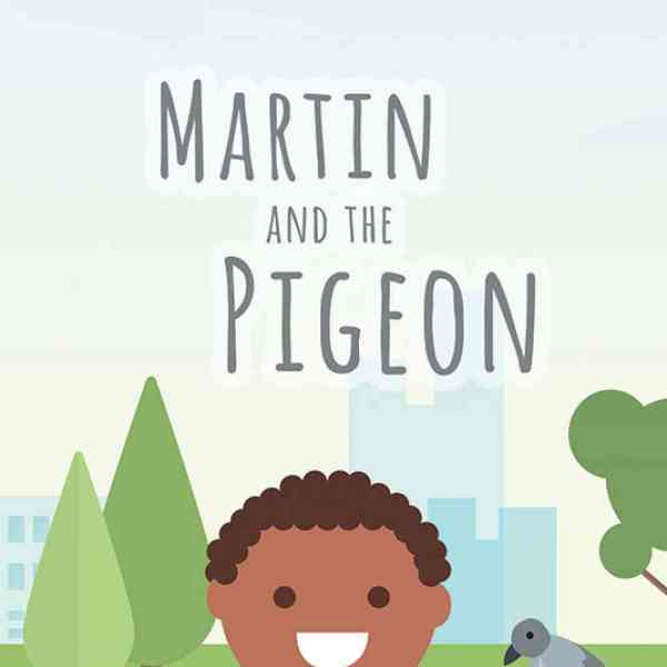 'Martin and the Pigeon', receives an enthralling review