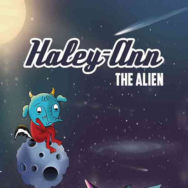 Book cover of Haley-Ann The Alien
