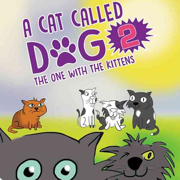 The book cover of 'A Cat Called Dog'