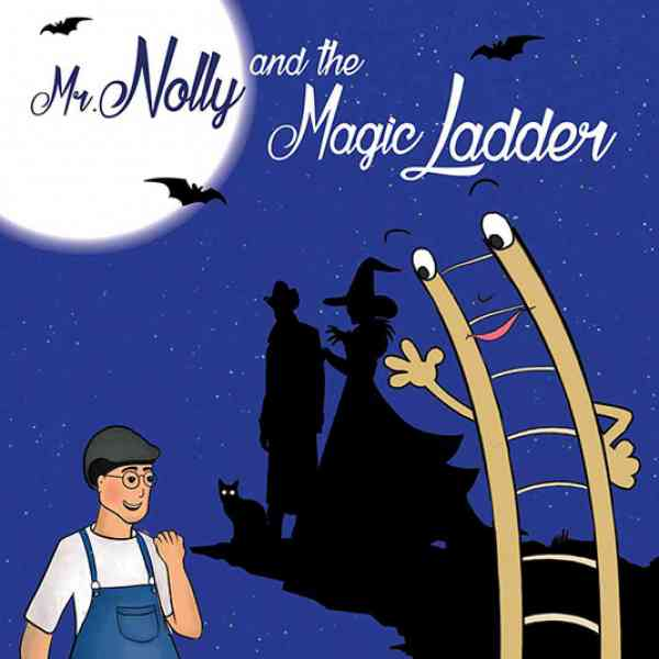 Mr. Nolly and the Magic Ladder book cover