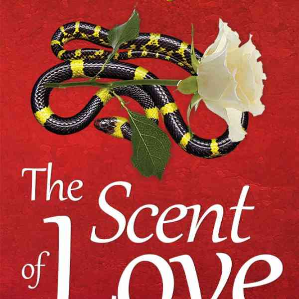 The book cover of 'The Scent of Love'