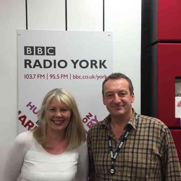 BBC Radio York talk to Kathleen Harryman