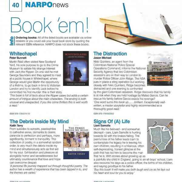 'Blue Line - Pink Thread' in NARPO Magazine