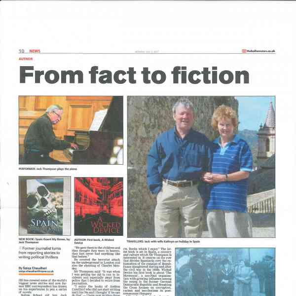 Jack Thompson has featured in The Bolton News