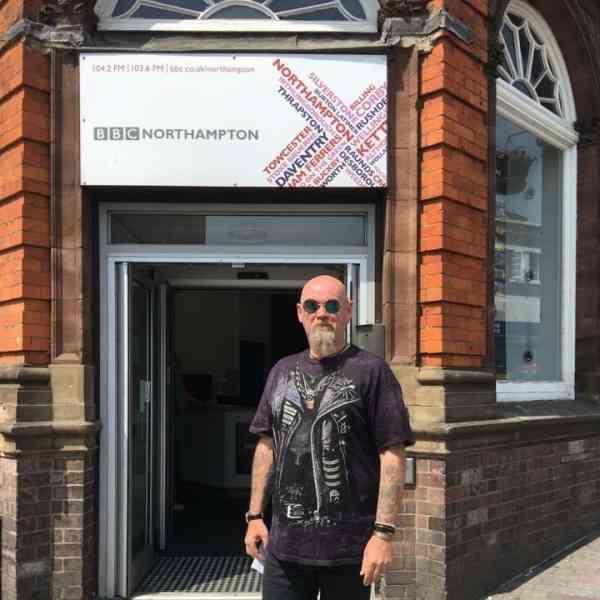 Eddie Mann has appeared on BBC Radio Northampton