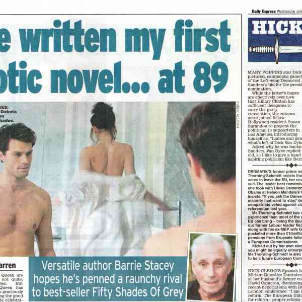 Barrie Stacey in The Daily Express