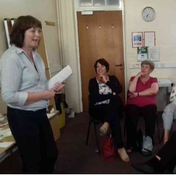 Fiona J Roberts promotes her book 'Ebb and Flow' and discusses the process of becoming a writer