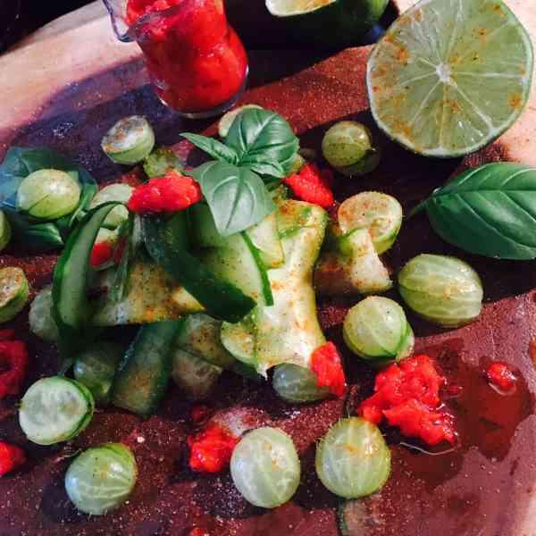 Lina Saad Brings Us Gooseberry Salad for Ramadan
