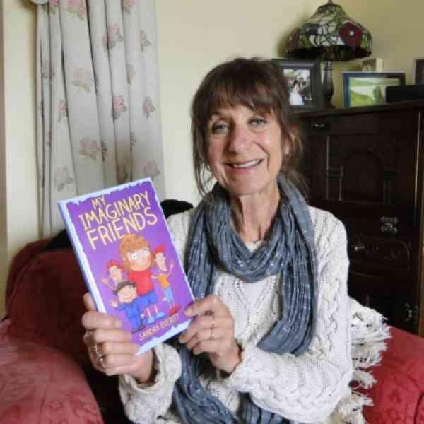 Author Sandra Everitt Features in the North Devon Gazette