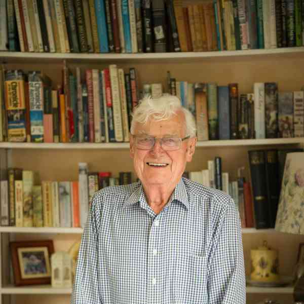 G.K. Robinson Exclaims His Joy of Becoming a Published Author Aged 90