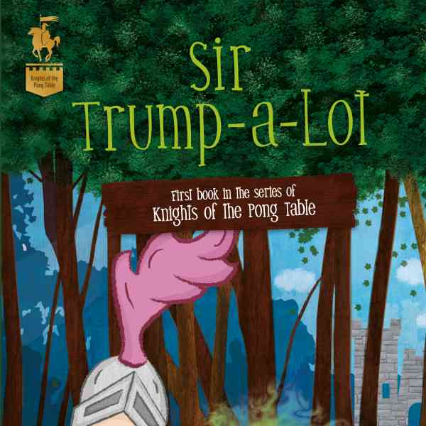 J. Knight Conry's 'Sir Trump-a-lot' was Reviewed by the connywithay book blog