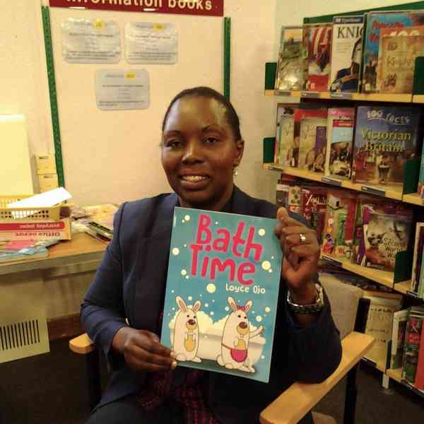 Loyce Ojo at Redhill Library
