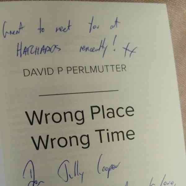 Wrong Place Wrong Time - Signed