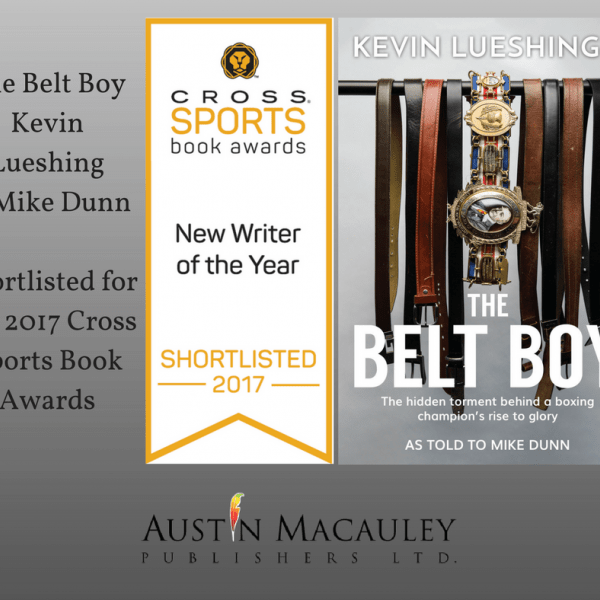 'The Belt Boy' has been shortlisted for The 2017 Cross Sports Book Awards