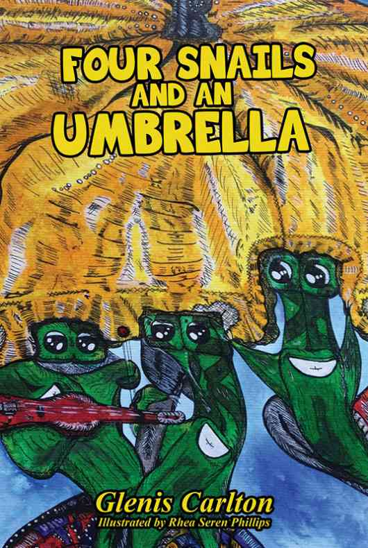 Four Snails And An Umbrella
