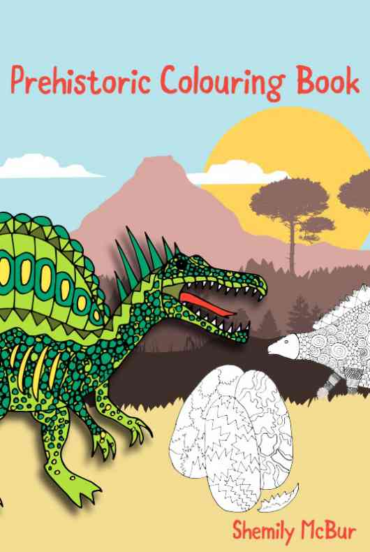 Prehistoric Colouring Book