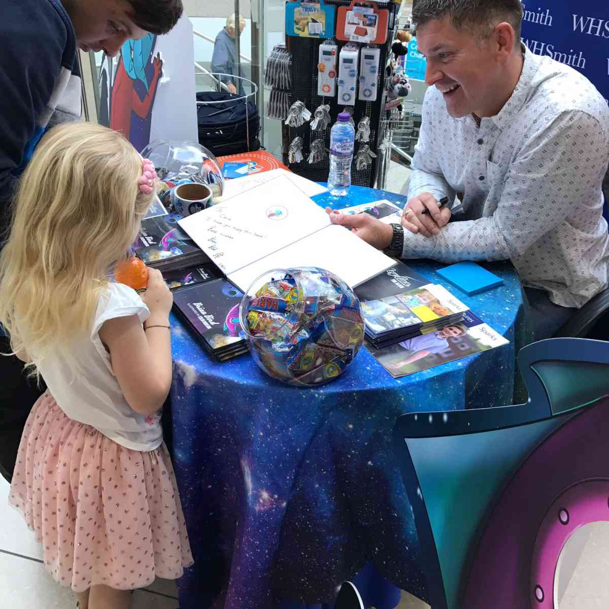 Brian Bird's Signing Event Was a Huge Success