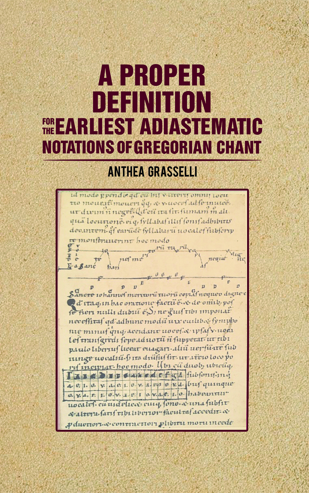 A Proper Definition for the Earliest Adiastematic Notations