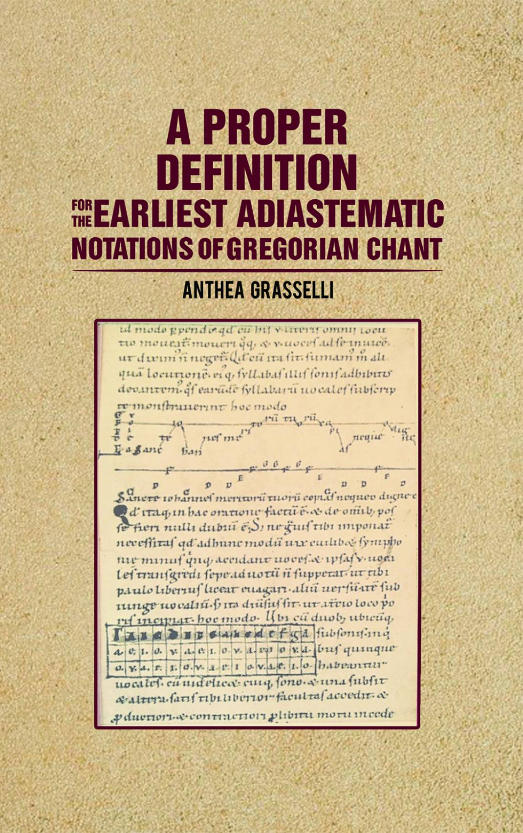 A Proper Definition for the Earliest Adiastematic Notations of
