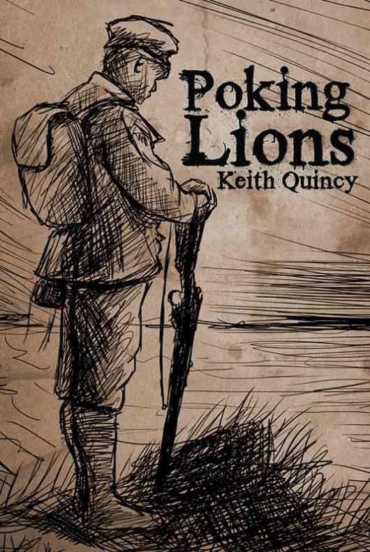 Poking Lions