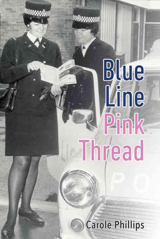 Blue Line- Pink Thread